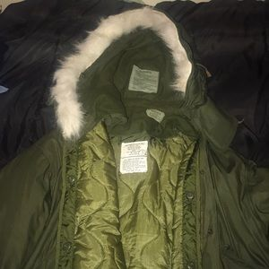 1970s Military Winter Parka LIKE NEW fully decked!